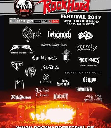 ROCK HARD Festival 2017 im Amphitheater in Gelsenkirchen