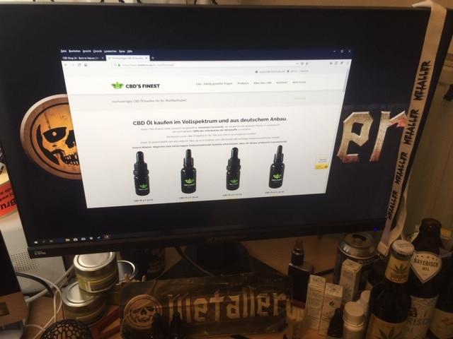 CBD Shop von CBDSFINEST: Vollspektrum CBD aus deutschem Anbau