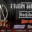 CFN Fest mit IRON ANGEL und BLACKSLASH in der Alten Turnhalle Naila am 14.03.2020