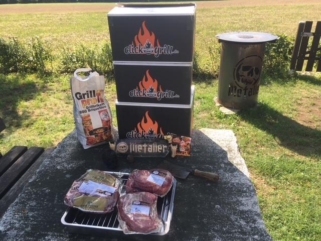 Click and Grill – Grillfleisch in Metzgerei-Qualität direkt nach Hause geliefert
