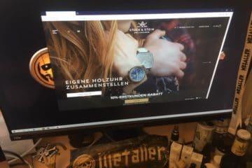 Holzuhren - schöne und außergewöhnliche Armbanduhren aus Holz