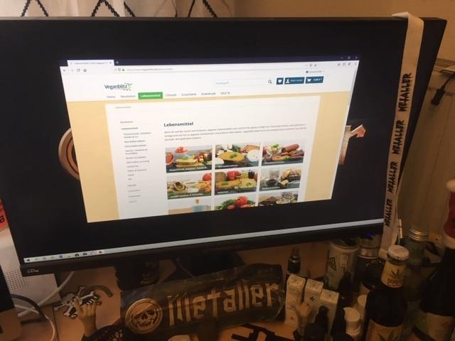 Online Shop von Veganblitz