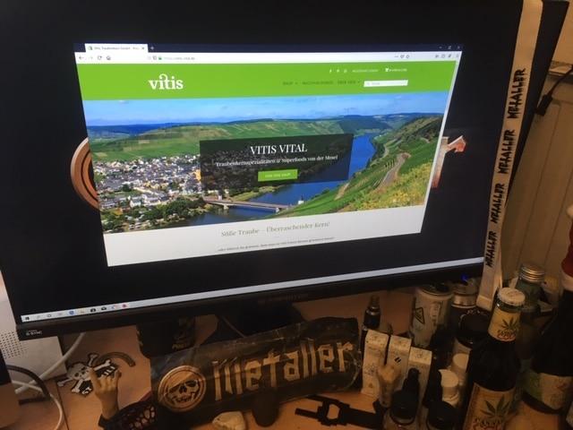 Online Shop von vitis-vital.de