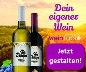 Rotwein- und Weißwein-Spezialitäten als personalisiertes Geschenk
