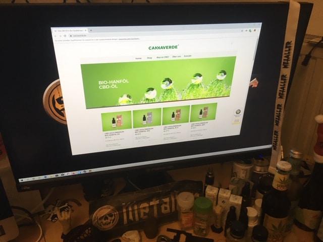 Der CBD Online Shop von Cannaverde