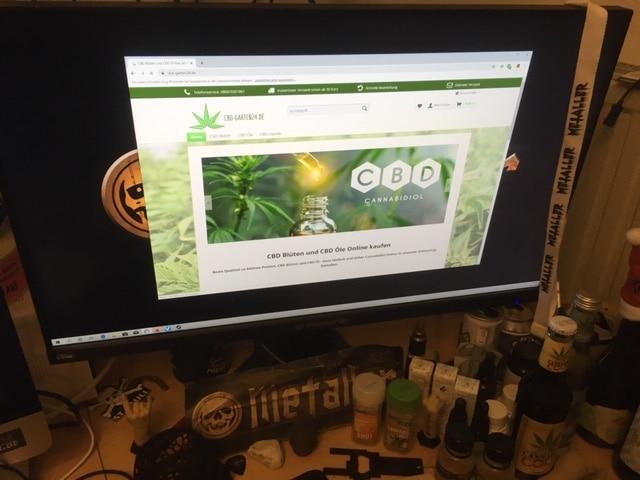 Der Online Shop von CBD-garten24.de