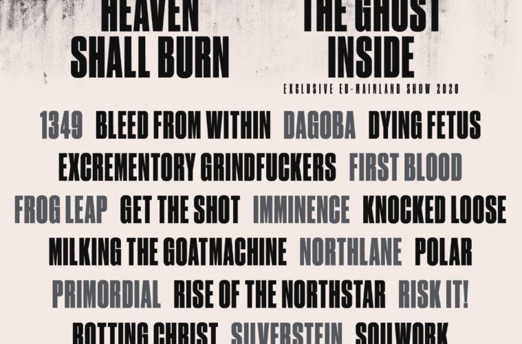 Heaven Shall Burn der thüringische Hatetrain beim FULL FORCE 2020!