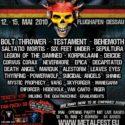 Metalfest Germany 12. bis 15. Mai 2010 Flughafen Dessau