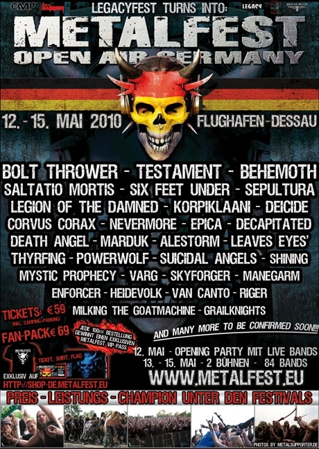 Metalfest Germany 2010