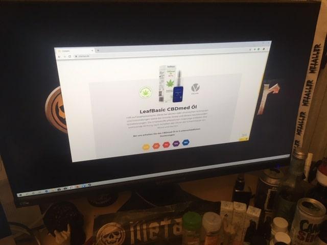 """CBD Öl """"LeafPro"""" und """"LeafBasic"""" bei chemps.de als zertifiziertes Medizinprodukt"""