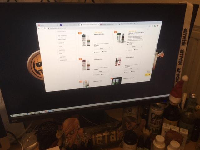 CBD Online Shop von Thankyoujane
