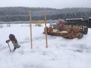 Nordische Kombination - Skispringen und Langlauf