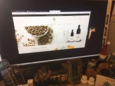 Der CBD Online Shop von CEBIOL