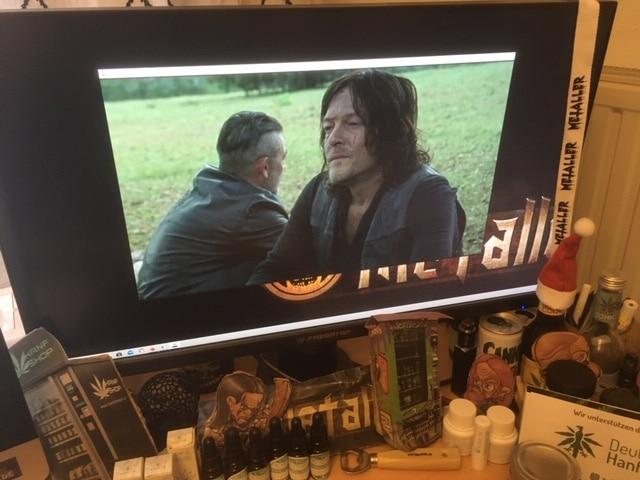 The Walking Dead Staffel 10 Episode 14 S10E14 (Folge 145) - Abschiede (Look at the Flowers) bei SKY / FOX / AMC