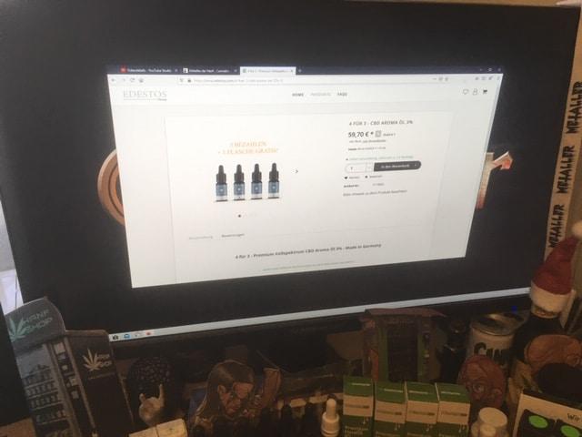 Vollspektrum CBD Produkte im Online Shop von EDESTOS