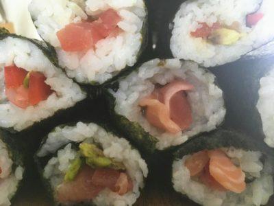 Die japanische Spezialität Sushi