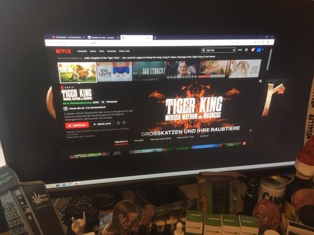 Die umstrittene Doku-Reihe Tiger King um Joe Exotic auf Netflix