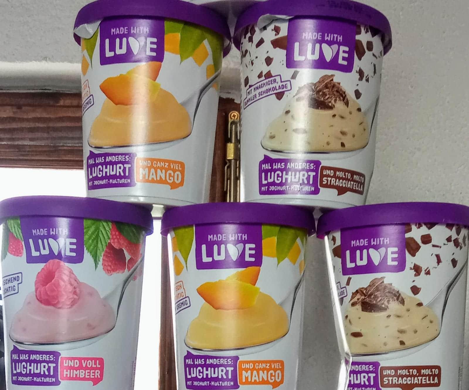 Lupinendessert und Lughurt