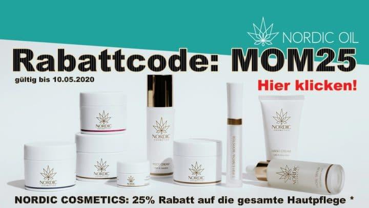 NORDIC COSMETICS: 25% Rabatt auf die gesamte Hautpflege