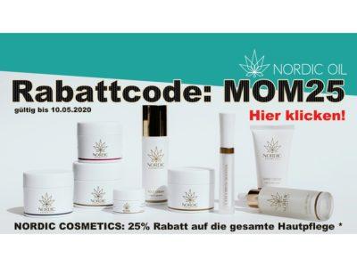 Nordicoil Muttertag Rabatt
