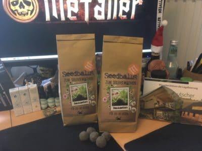 Seedballs oder Samenbomben - Samenverbreitung auf kreative Art