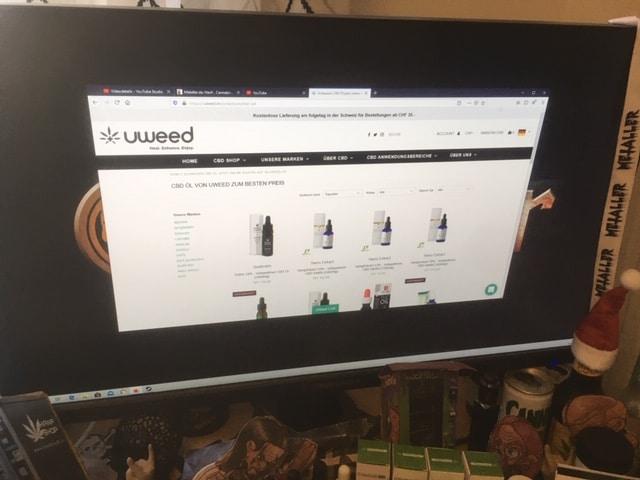 Legale Cannabis-Produkte: Qualitätsware von UWEED aus der Schweiz