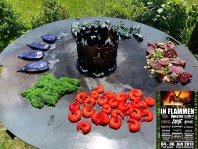 MetallerMontag 08.06.2020: Buntes Grillen und Rückblick In Flammen Open Air 2013