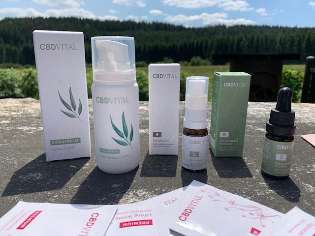 Einige Produkte von CBD-Vital