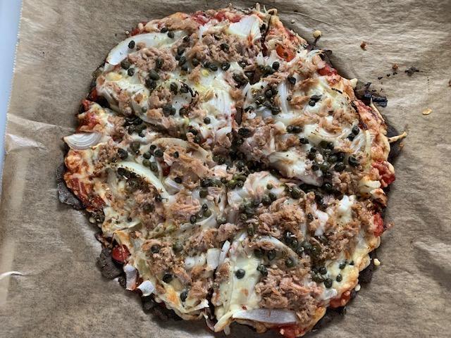 Hanfpizza: Pizzateig aus Hanfmehl