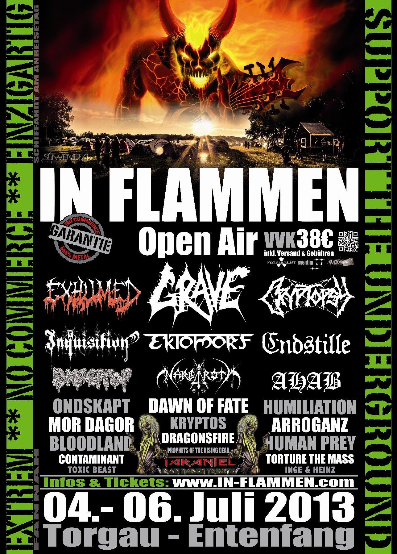 In Flammen Open Air 2013