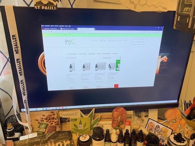 Zellrevital: Online-Shop und Wellness-Center inklusive CBD-Anwendungen