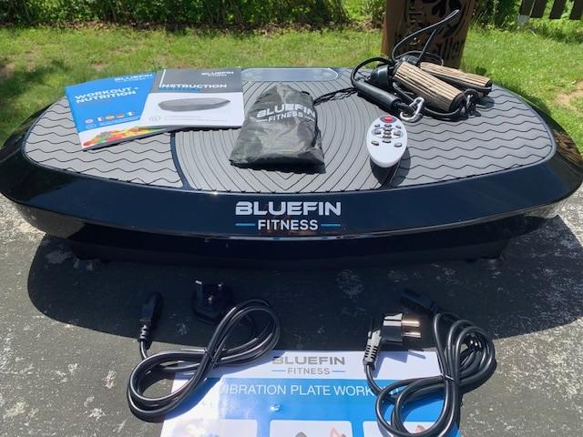 Die 3D Dual-Motor Vibrationsplatte von Bluefin