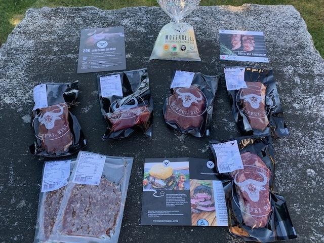 Premium-Büffelfleisch aus artgerechter Tierhaltung von Büffel Bill