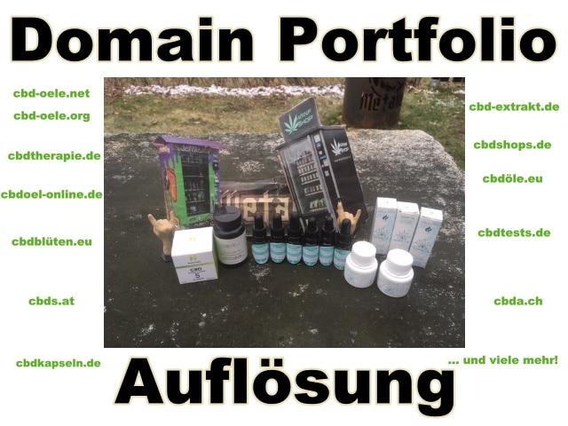 CBD-, Cannabis-, Hanf- Domain-Portfolio Abverkauf!