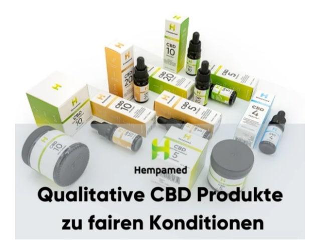 Hempamed CBD Produkte