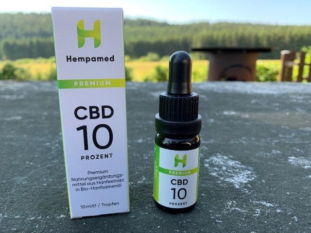 CBD Öl 10% von HEMPAMED