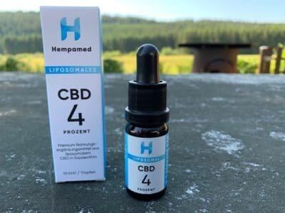 Liposomales CBD von HEMPAMED