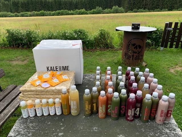Die Saftkur und das Probierpaket von Kale and me