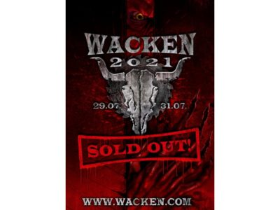 Wacken Open Air 2021 – Sold Out! Alle Tickets sind restlos verkauft!