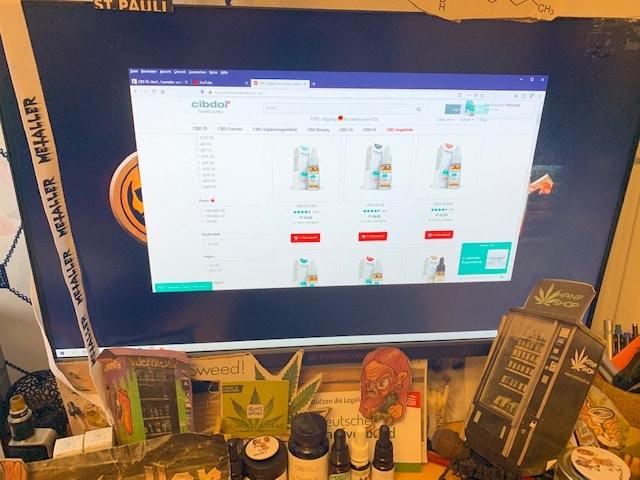 Großes CBD Sortiment im Online Shop von Cibdol
