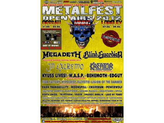 Metalfest Deutschland 2012 Loreley