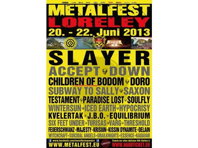 Metalfest Deutschland 2013 Loreley