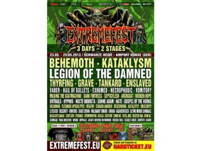 Melancholie unter Schwarzmetall-Regen: Das Extremefest 2013