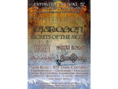 Fimbul Festival 2012 - Pagan und Black Metal in der Frankenhalle in Dettelbach