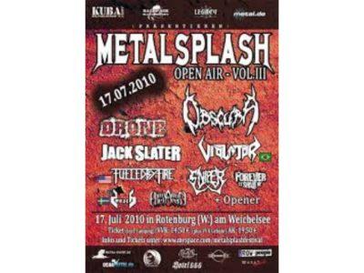 Metal Splash Open Air 2010 - Idylle am Rotenburger Weichelsee