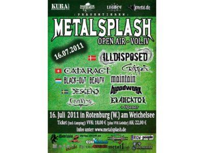 Metal Splash Open Air 2011 - großartiges Festival zum kleinen Preis