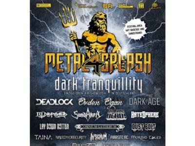 Metal Splash Open Air 2014 - gemütliches Festival mit vielen Höhepunkten