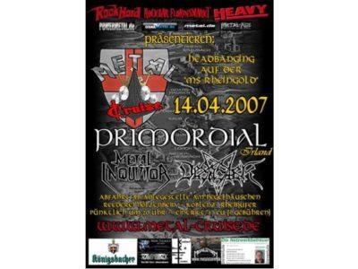 MetalCruise I bis III in Koblenz - Auswahl der exakt richtigen Bands