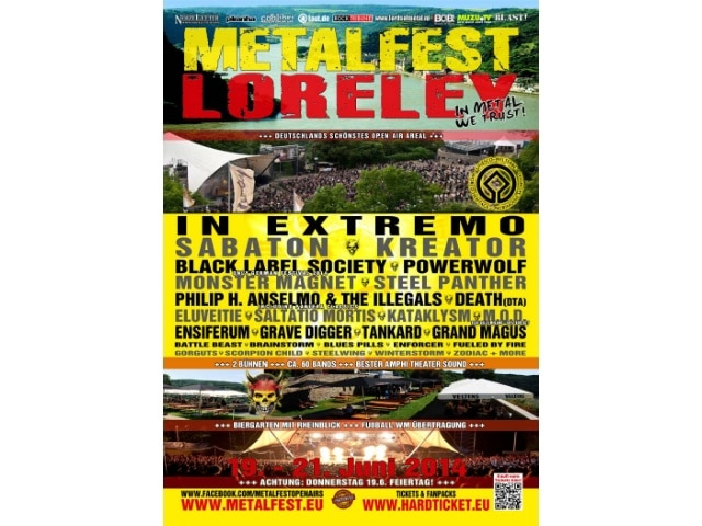 Metalfest Deutschland 2014 Loreley