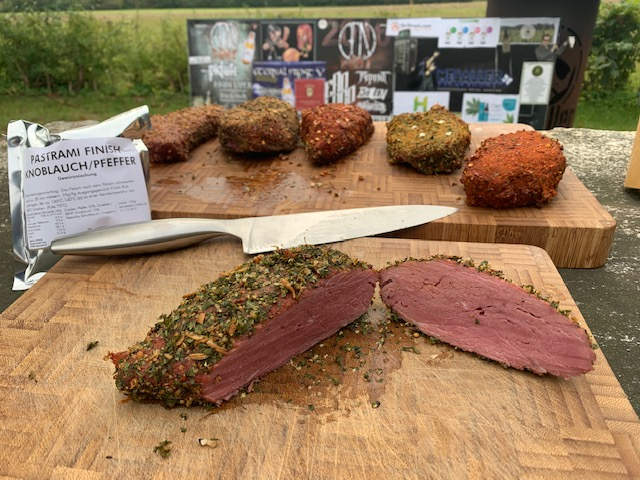 Pastramiset Royal Spice Knoblauch / Pfeffer